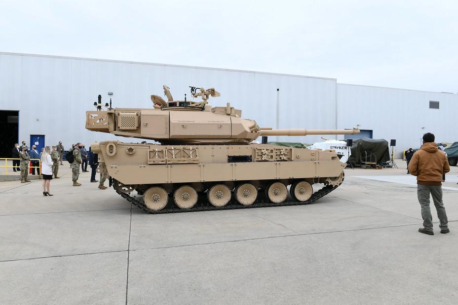Новый образец лёгкого танка от General Dynamics flickr.com - General Dynamics разработала новый лёгкий танк | Warspot.ru