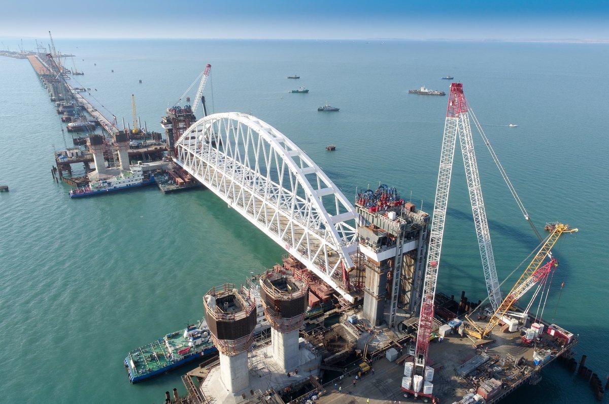 Крымский мост: чушка завалится