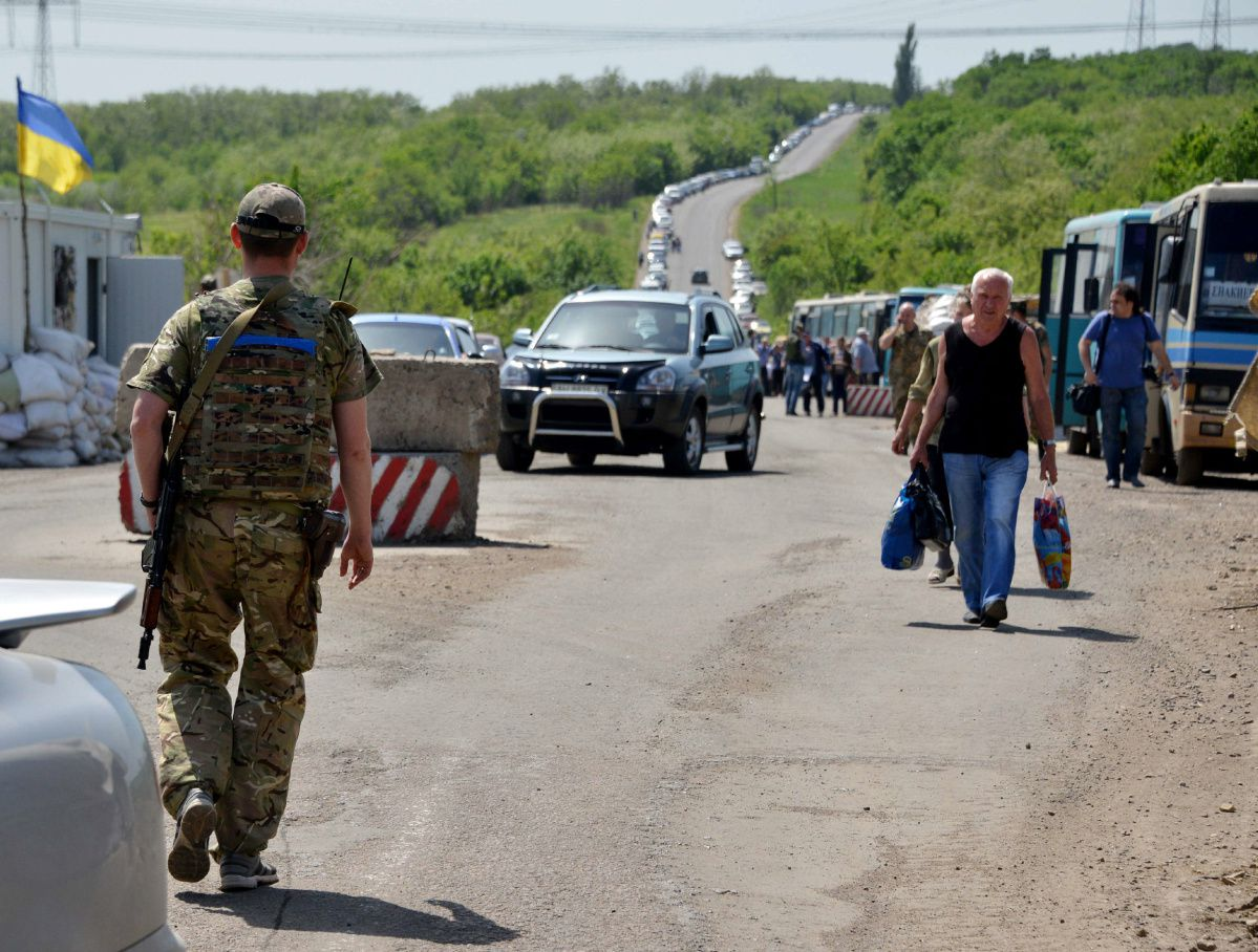 Для пересекающих границу с Украиной жителей ЛДНР придумали новое правило Граница,Донбасс,Пограничники,Политика,Украина,Украина