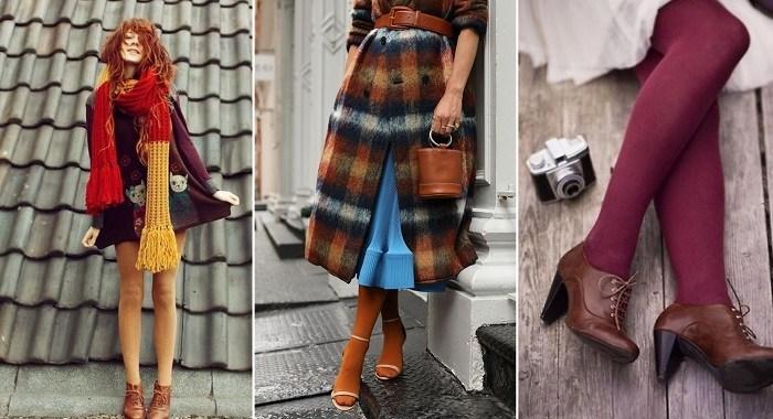 Как носить колготки грядущей осенью