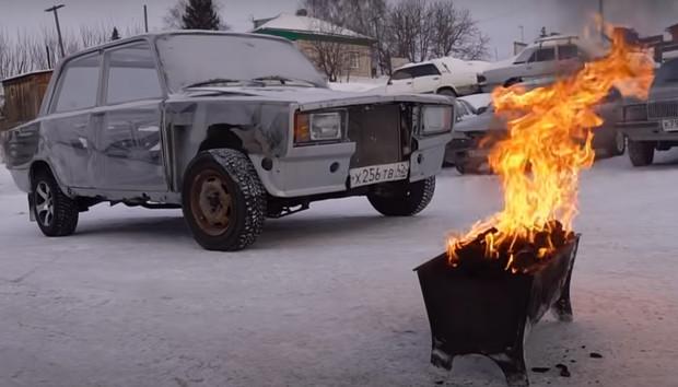 Как отогреть двигатель автомобиля в мороз: 3 приема от сибиряков