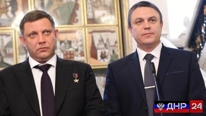 Главы ДНР и ЛНР подписали соглашение о едином таможенном союзе