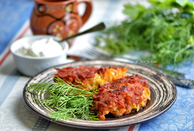 Вкусные и сочные капустные котлеты