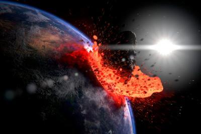 Человечество пережило падение гигантской кометы