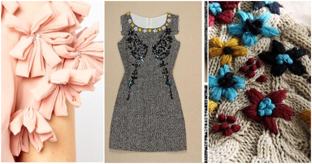 Всё начинается с декора: чудесное украшение одежды