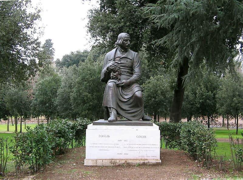 Николай Гоголь бюст, классики, литература, памятник, память, пушкин