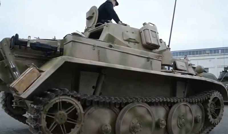 Быстроходная бронетехника войны: танк Panzerkampfwagen II версии D оружие,танки