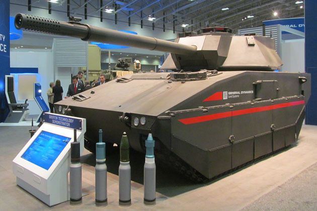 Лёгкий танк Griffin shephardmedia.com - General Dynamics разработала новый лёгкий танк | Warspot.ru