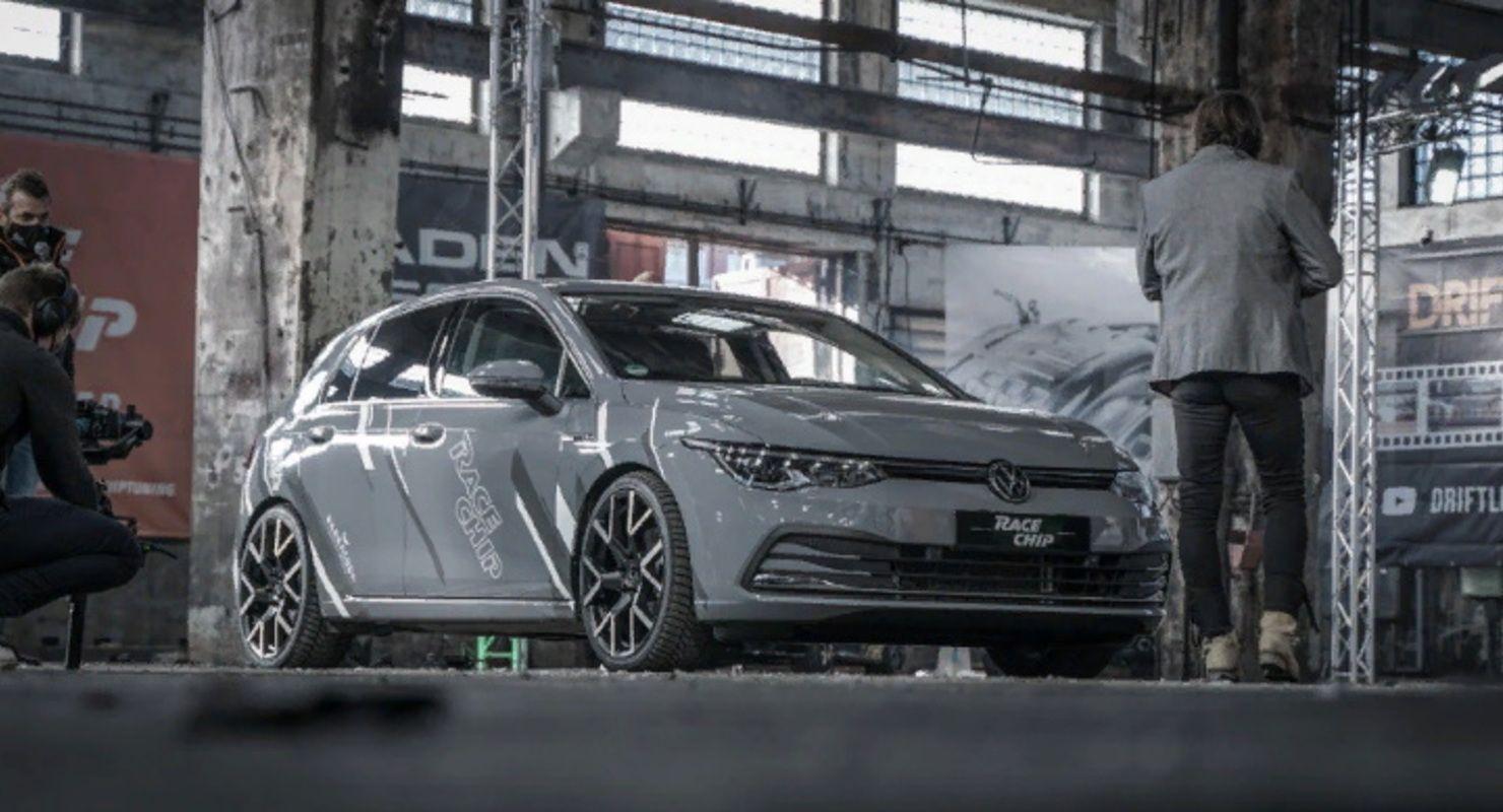 VW Golf Mk8 1.5 TSI получил усиленный двигатель и 19-дюймовые колеса Автомобили