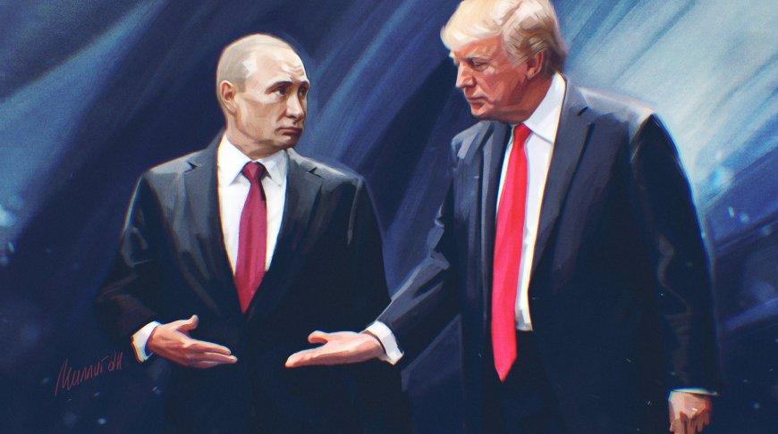 Встреча Путина и Трампа: аме…