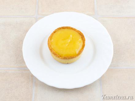 Тарталетки с лимонным кремом — 13 шаг
