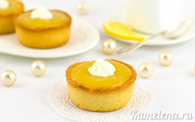 Тарталетки с лимонным кремом — 15 шаг