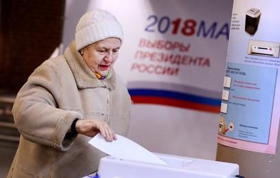 По состоянию на 14:00 явка на выборах составила почти 35 процентов