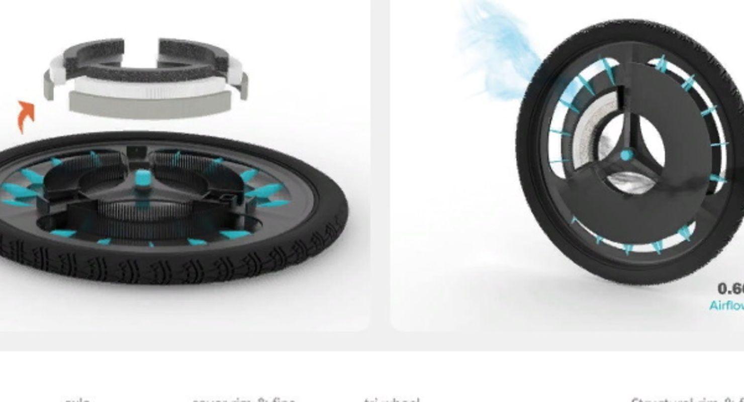 В Лондоне создали велосипедное колесо для чистки воздуха Автомобили
