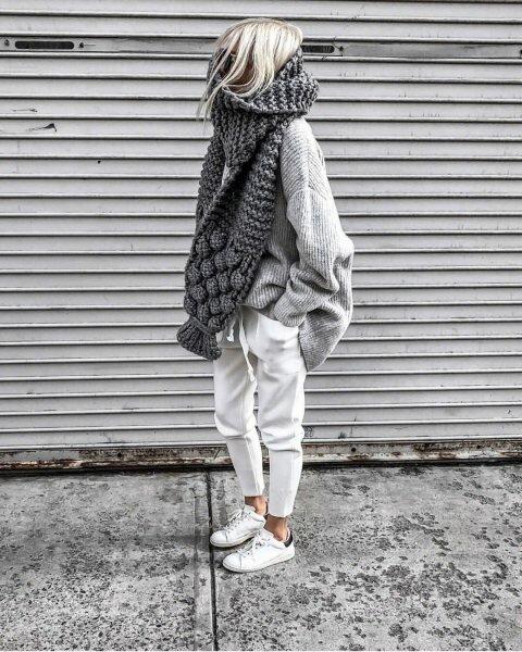 5 самых модных шарфов сезона