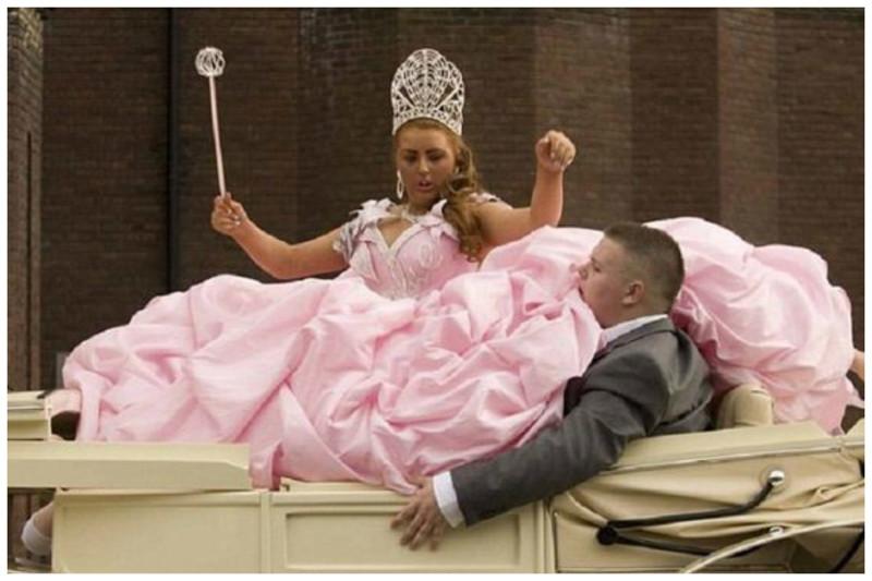 самые смешные свадебные платья фото всегда таким