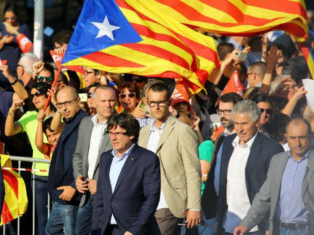 В Каталонии снова вспыхнули …