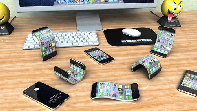 Apple сотрудничает с LG для создания гибкого iPhone