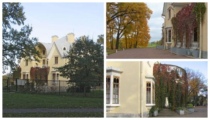 Петергоф, парк Александрия, дворец «Коттедж» (к/ф «Приключения Шерлока Холмса и доктора Ватсона», дом Милвертона).