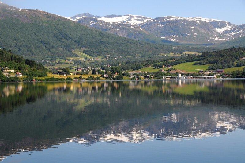 Хорниндальсватнет (Hornindalsvatnet) викинги, интересно, история, норвегия, открытия, факты