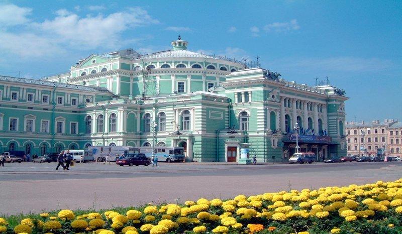 19-Здание Мариинского театра Красивые здания, СПб, питер