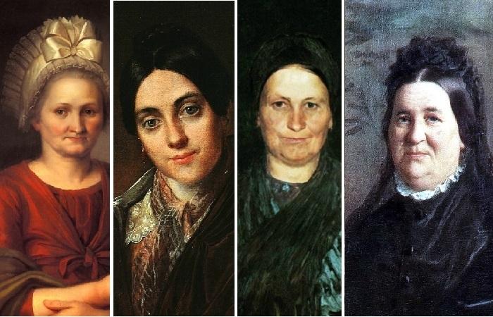 Матери знаменитых художников