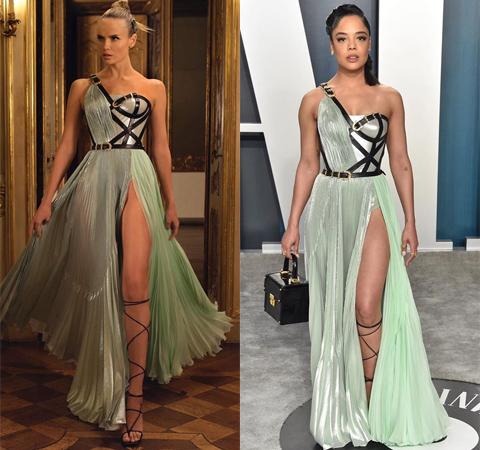 Битва платьев: Наташа Поли против Тессы Томпсон Битва платьев
