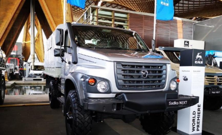 Компания «ГАЗ» показала общественности новый внедорожный грузовик «Садко Next»