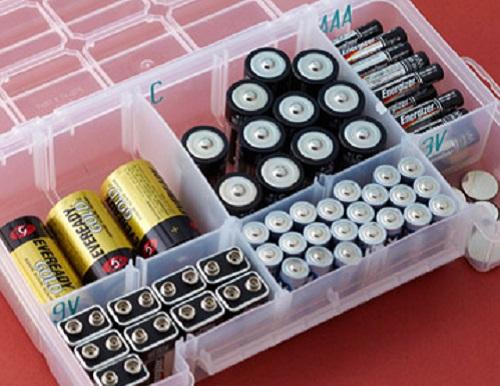 батарейки в коробках