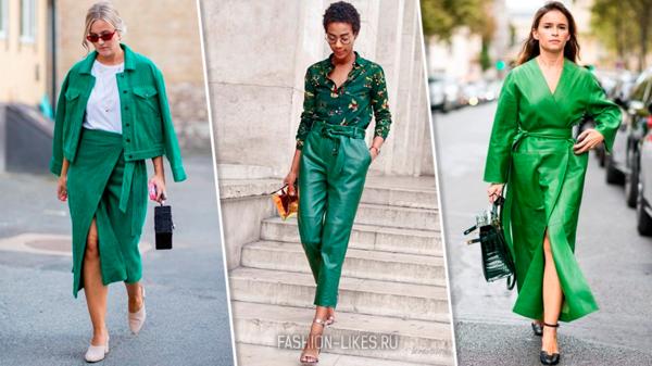 9 стильных способов носить сочный зеленый в сентябре и выделяться в толпе