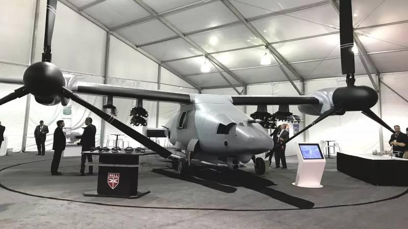 Многоцелевой БПЛА Bell V-247 Vigilant  ввс