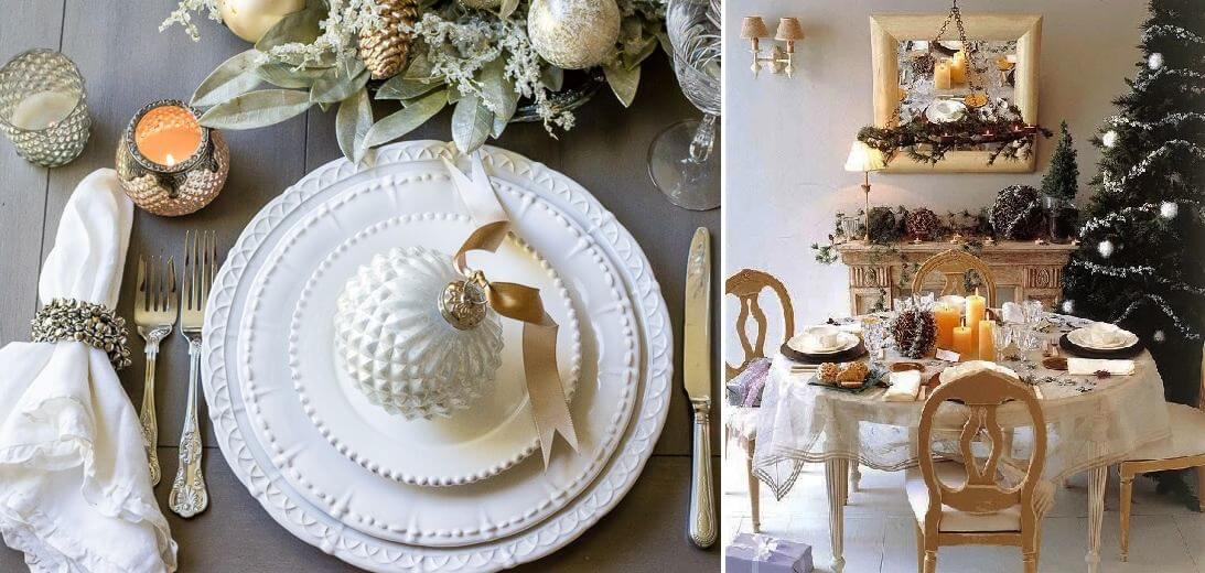 Сервировка на Новый год в 2021 году: как украсить стол в год Быка идеи для дома,новогодний декор