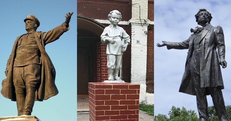 Монументальный топ, или Кому установлено больше всего памятников в России?