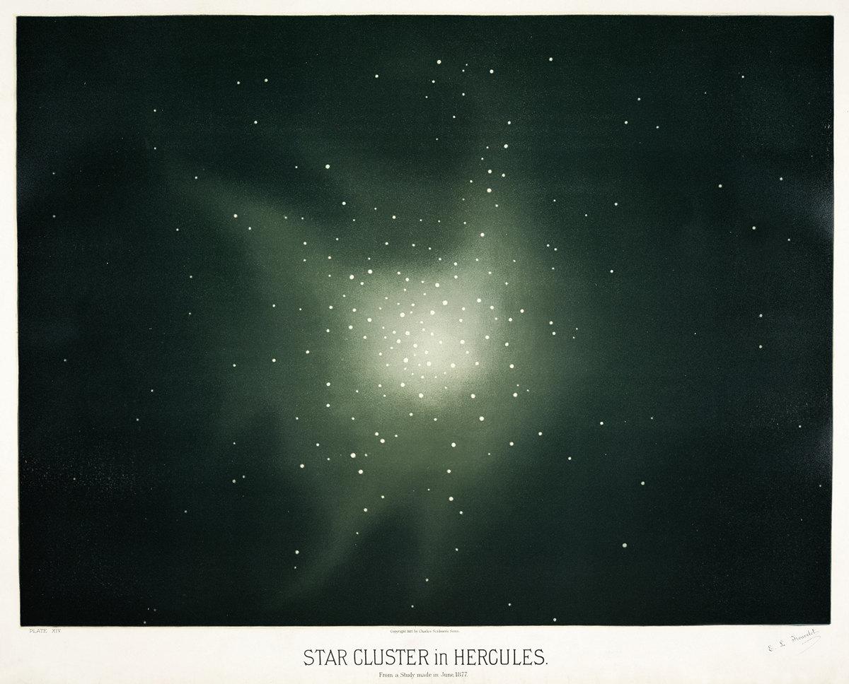 Старинные астрономические рисунки Этьена Трувело 11
