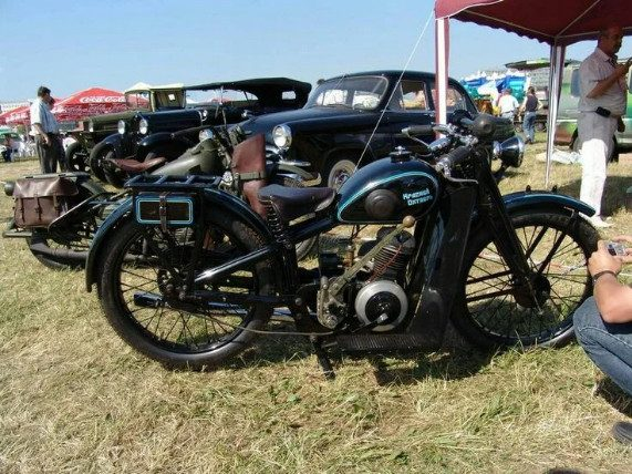 Самый первый серийный советский мотоцикл