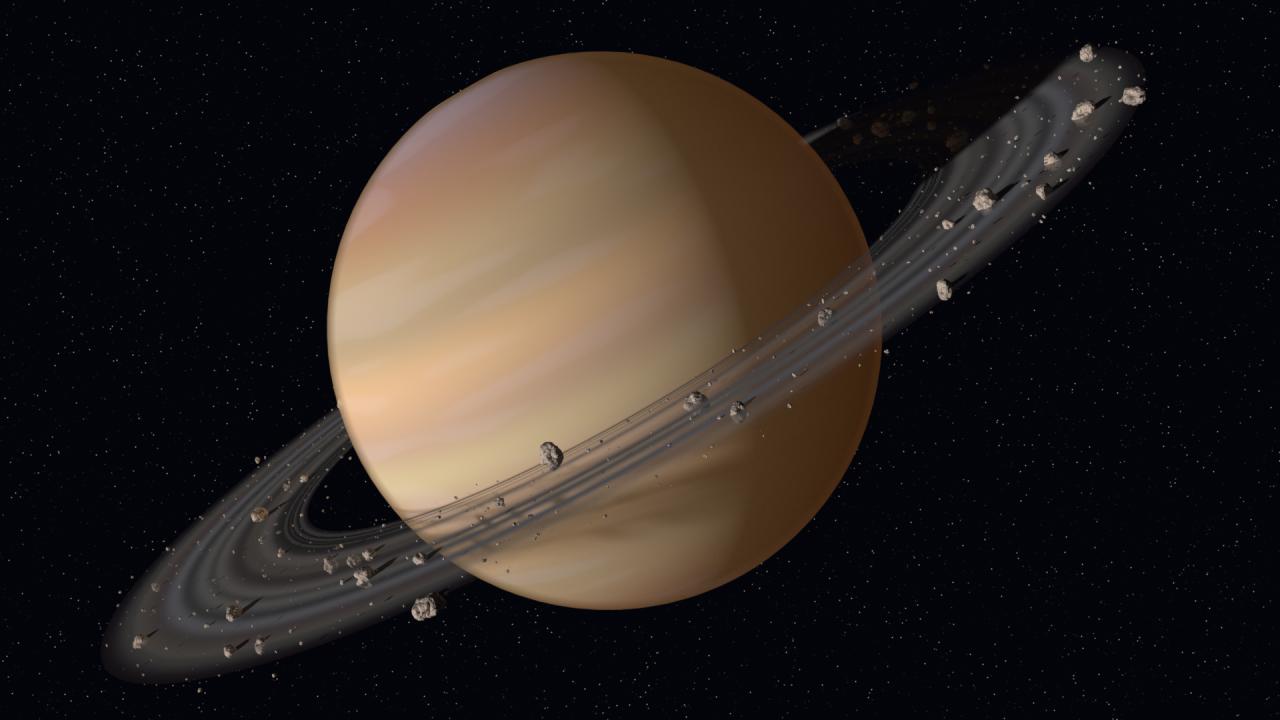Как звучит планета Сатурн