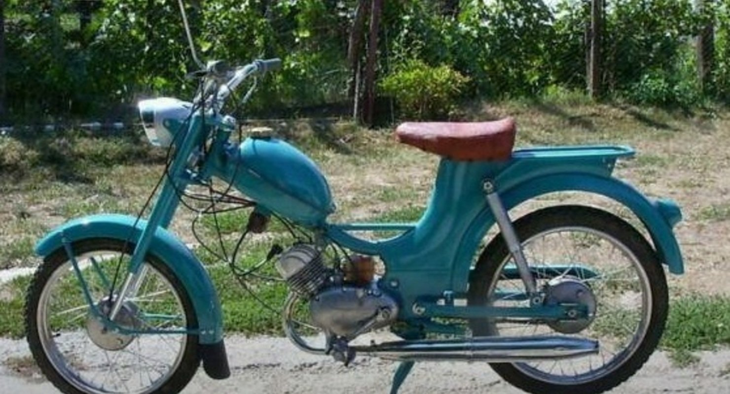 Мопеды СССР с мотоциклетными двигателями Мото