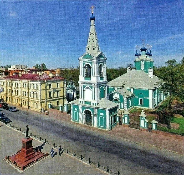 16-Сампсониевский собор Красивые здания, СПб, питер