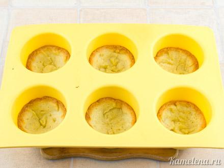 Тарталетки с лимонным кремом — 12 шаг