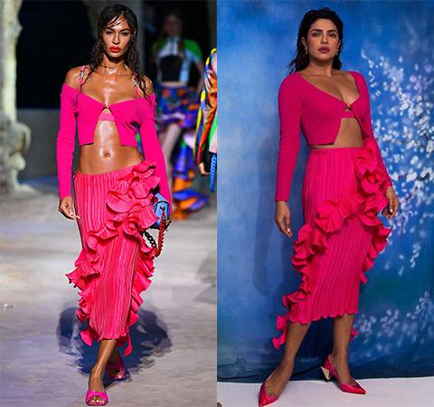 Модная битва: Джоан Смоллс против Приянки Чопры