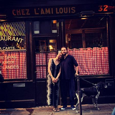 Хайди Клум с женихом Томом Каулитцем и детьми отдыхает в Париже Звездные пары