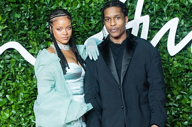 СМИ: Рианна встречается с рэпером A$AP Rocky