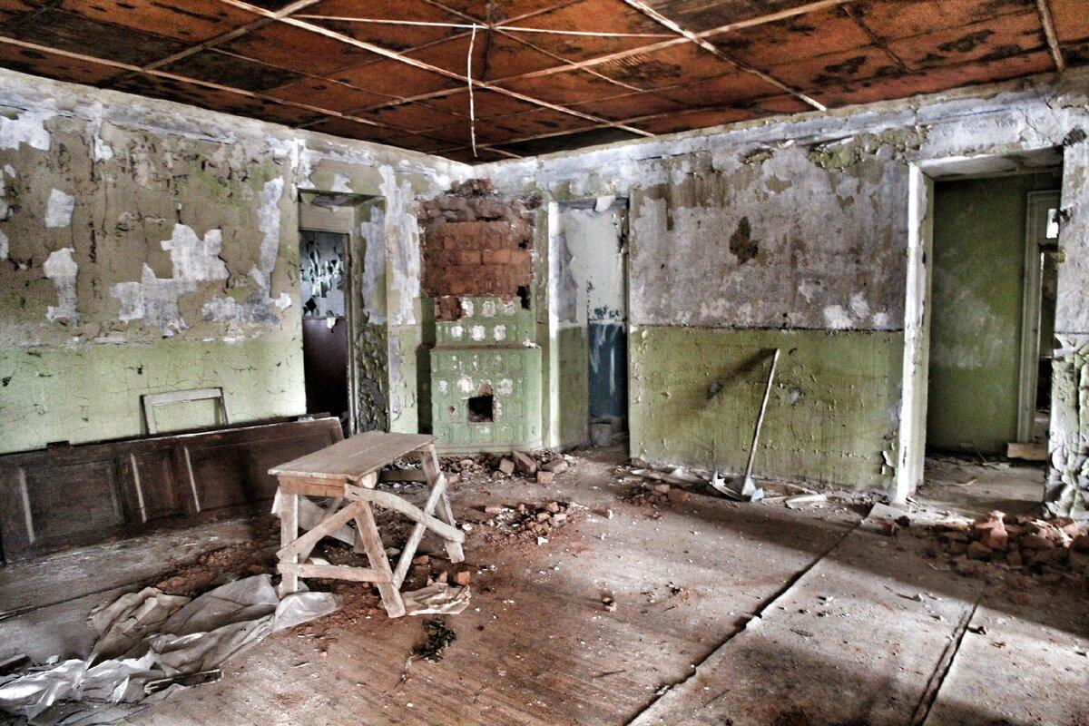 Комната с печью