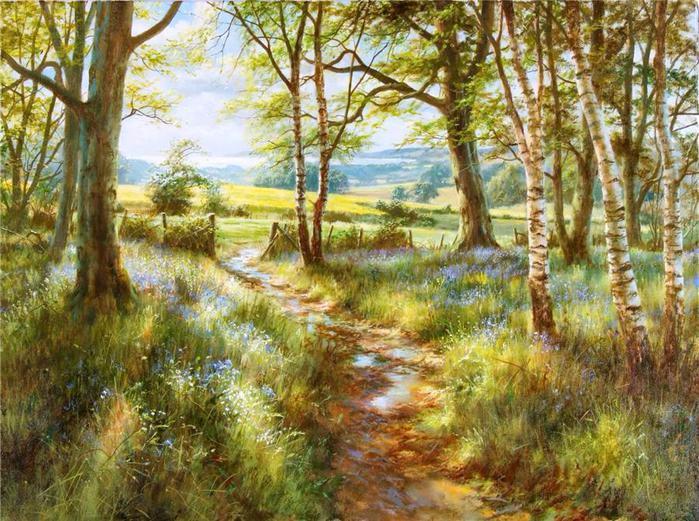 Пейзажи, нарисованные сердцем!
