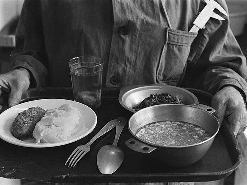 Еда в советских столовых