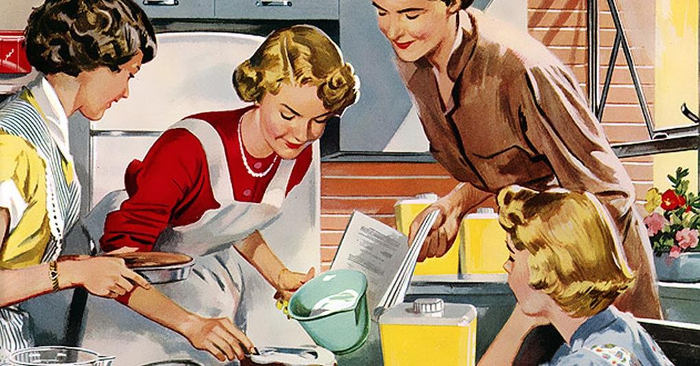 В этом «Уставе для хорошей жены» 1955 года рассказывается, как жены должны обращаться со своими мужьями