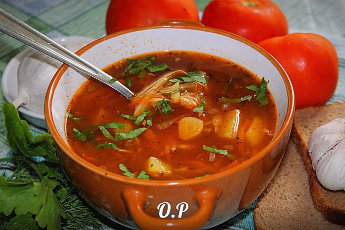 Вернулась из Чехии и привезла обалденный рецепт чесночного супа