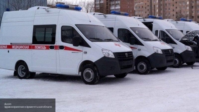 Авария с участием четырех автомобилей произошла в Москве