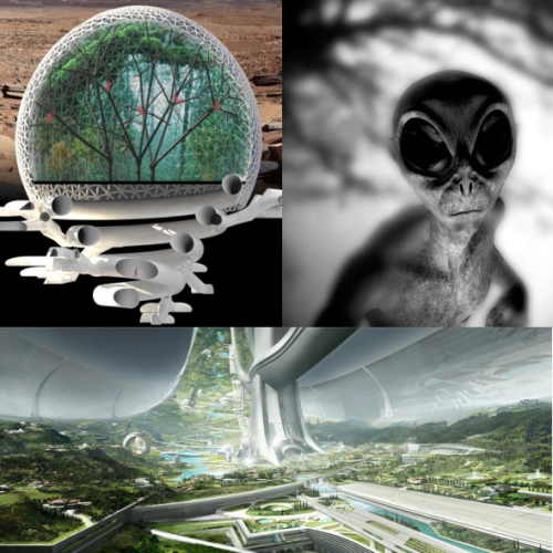 Инопланетяне вывезут людей на другую планету, а Землю превратят в рай