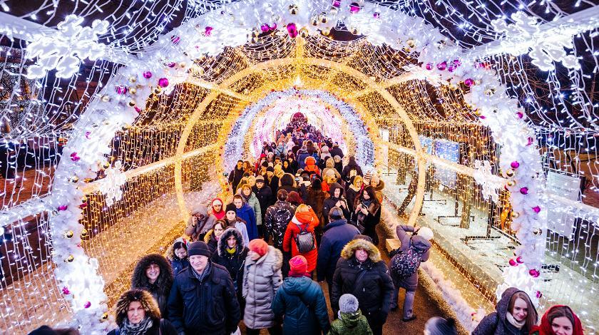 Москва приглашает путешествовать в Рождество